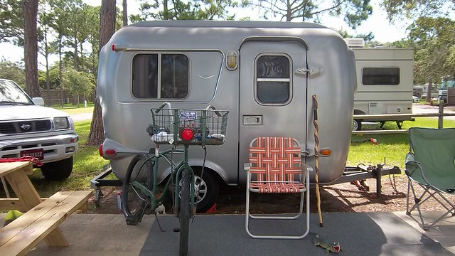 Elegant Vintage 1983 Burro 14 Fiberglass Camping Trailer Very Clean With New Refrigerator That Runs On Propane Or 115VAC New Tanks And Lines, New Self Contained Porta Potti Series 100, New Battery And 115 VAC Converter, Sink, 2 Burner Stove,
