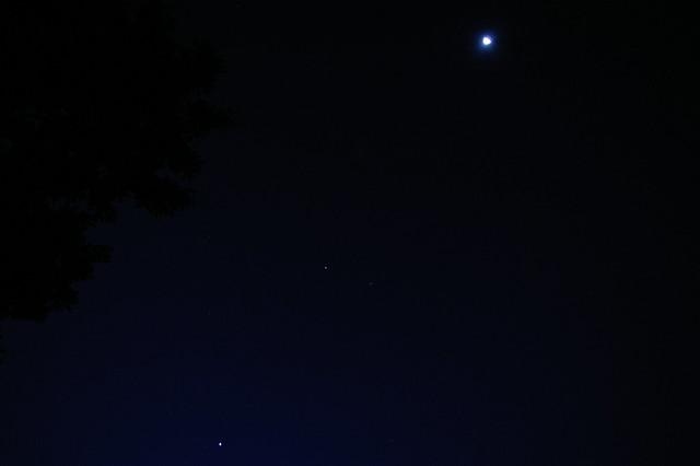Venus Jupiter Moon