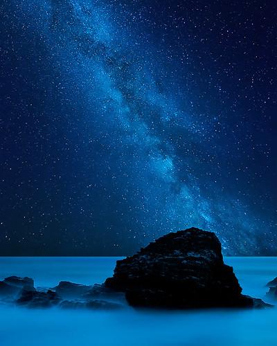The blue way by  David.Keochkerian 