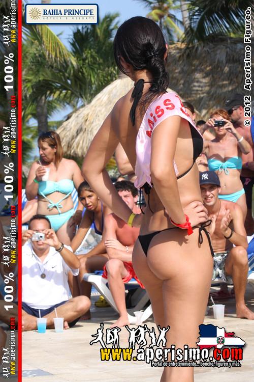 Chicas calientes en concurso de bikini