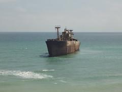 bulk carrier(0.0), bay(0.0), breakwater(0.0), cargo ship(0.0), shore(0.0), terrain(0.0), coast(0.0), vehicle(1.0), ship(1.0), sea(1.0), ocean(1.0), channel(1.0), watercraft(1.0), shipwreck(1.0),