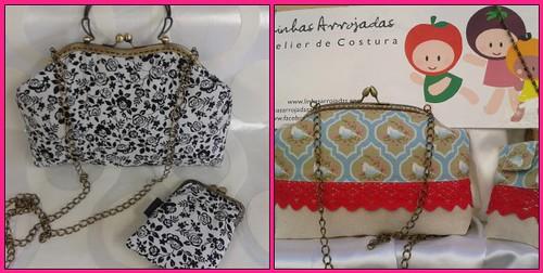 Clutch únicas cheias de Glamour para clientes que merecem o meu melhor♥♥♥♥ by ♥Linhas Arrojadas Atelier de costura♥Sonyaxana
