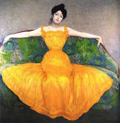 woman-in-yellow-dress-by-max-kurzweil