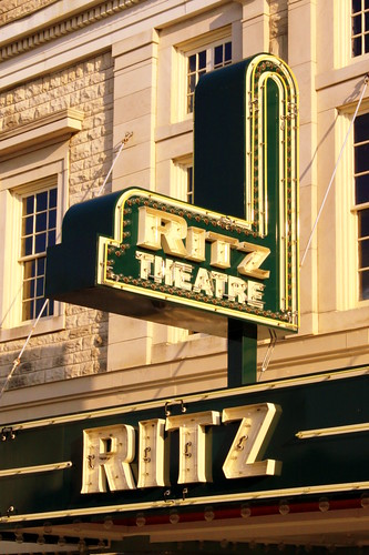 Ritz Theater Sign and Marquee - Sheffield, AL