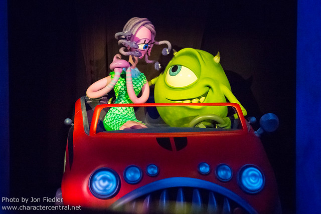 Disneyland July 2012 - Monsters Inc. Mike & Sully to the Rescue!
