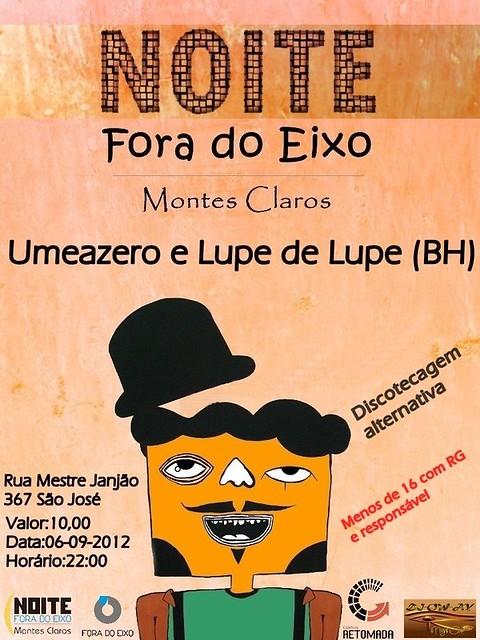 Show em Montes Claros dia 06/09