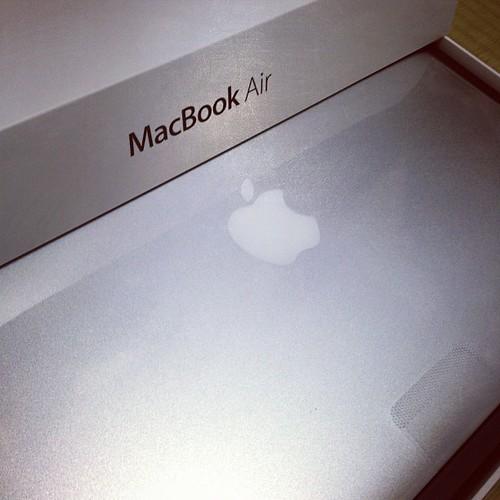 これぞMacBookAir13インチ!