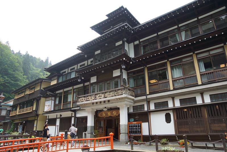 銀山温泉 Ginzan Onsen
