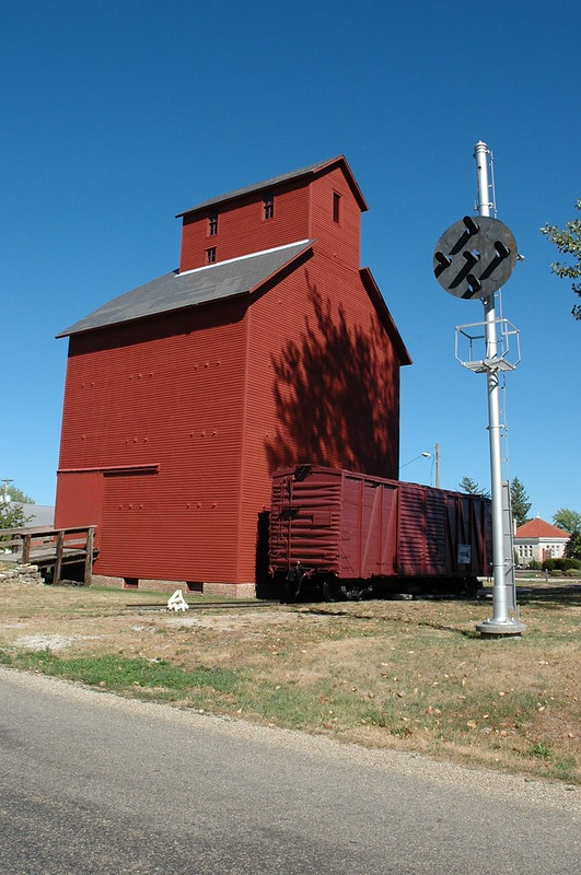 J. H. Hawes Grain Elevator Museum, Atlanta, IL