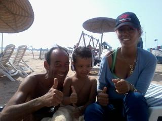 ESSAOUIRA 2012-Beach&sami&souad&mouna&jean michel&black zitoun by Coolest Riads Morocco