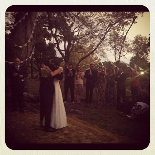 E eles se casaram!