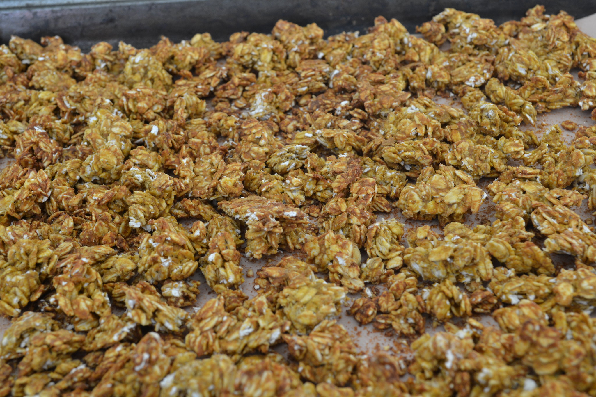 sugar-free peanut butter protein granola, nuttzo, healthy, food, cooking,