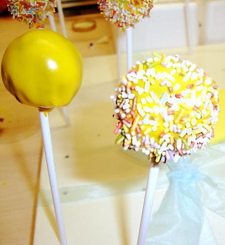 drying cake pops