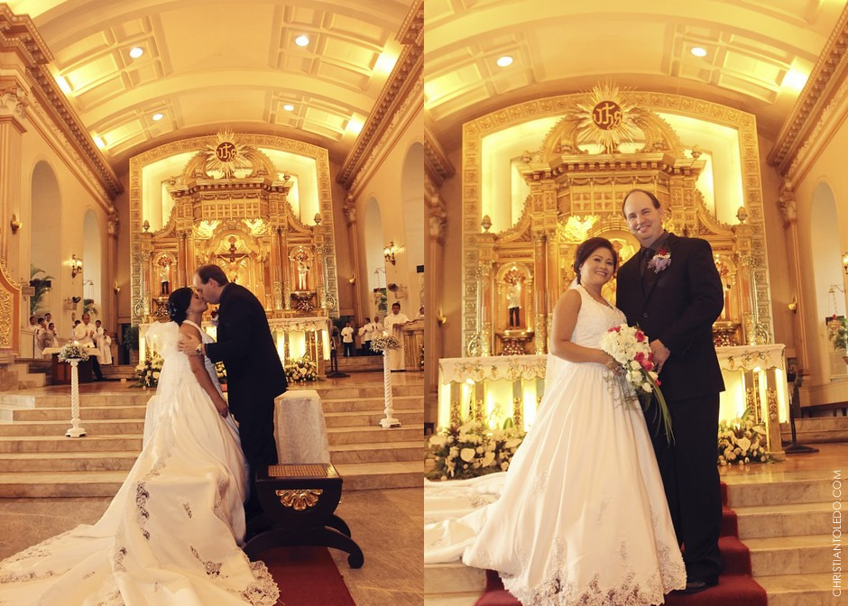 Cebu Cathedral Church, Cebu Wedding Photography
