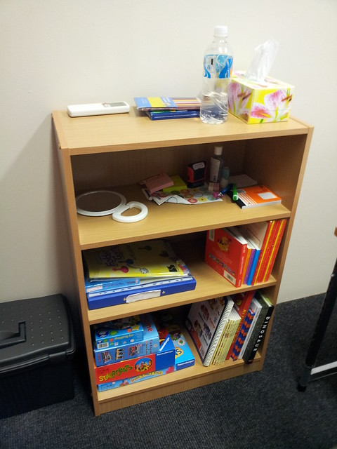 Yay! Speech Shelf!