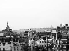 Sacré Coeur from Porte d'Orléans