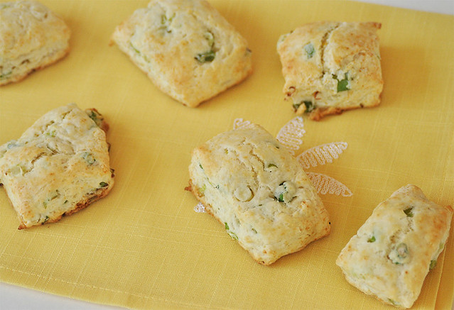 Scallion Biscuits