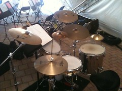 bass drum(0.0), drummer(0.0), electronic drum(0.0), electronic instrument(0.0), tom-tom drum(1.0), percussion(1.0), timbale(1.0), drums(1.0), drum(1.0), timbales(1.0), skin-head percussion instrument(1.0),