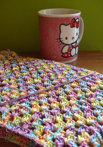 crocheting & coffee by Nataša Blagojević