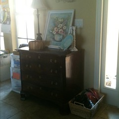 Clutter buster Day #5 Organizing & Cleaning series Baskets in strategic places!