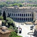The Theatre of Marcellus from the top of Il Vittoriano