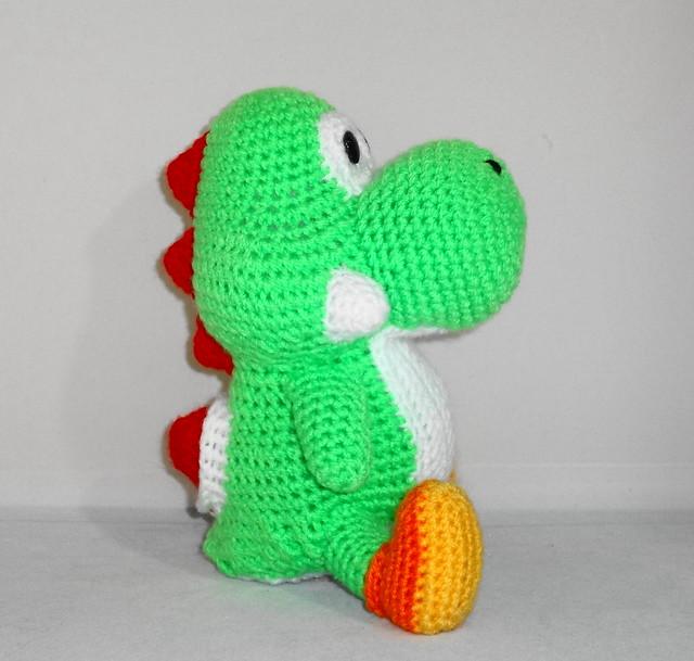 Crochet Yoshi : Amigurumi Yoshi Flickr - Photo Sharing!
