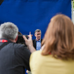 Michael Palin photocalll | The lovely Michal Palin was very popular with the press photographers