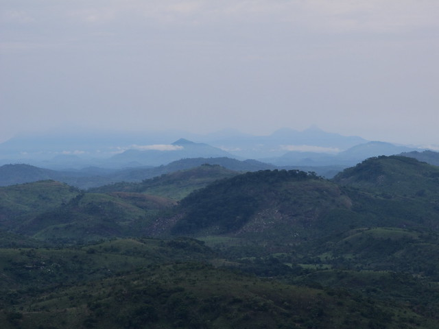 Arial view of Tonkolili region in Sierra Leone