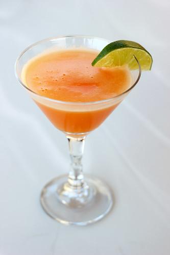 Cantaloupe Mocktini/Martini
