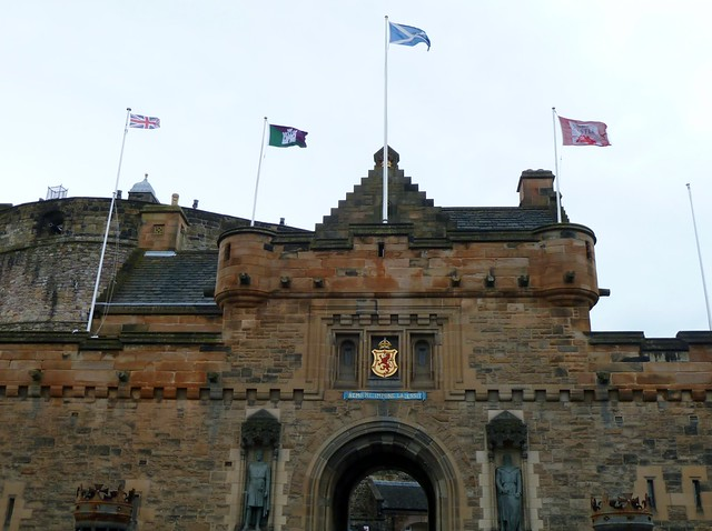 Entrance Facade, Edinburgh Castle
