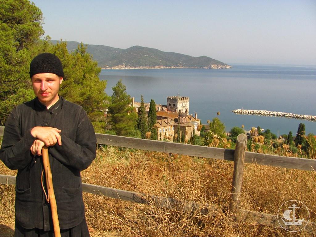 По пути из Ватопеда в Пантелеимонов монастырь