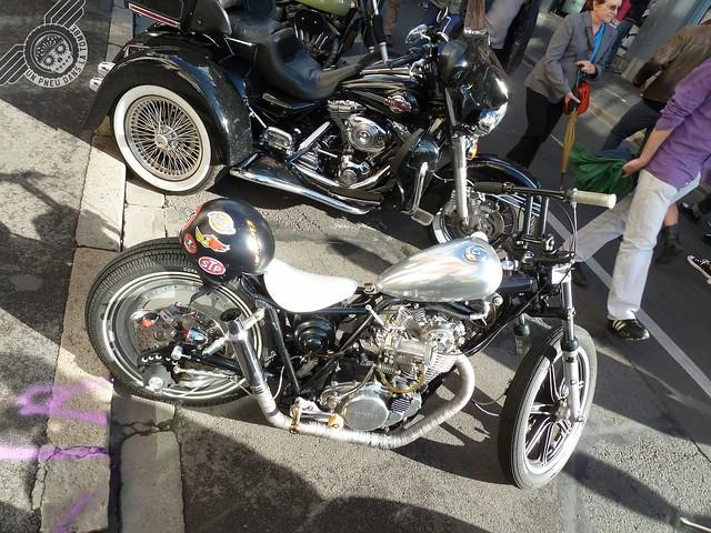 Une Yamaha SR 500 customisée à l'extrême, et sortie de chez MHC Workshop.