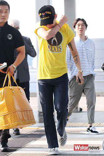Big Bang - Incheon Airport - 07aug2015 - Wstarnews - 08