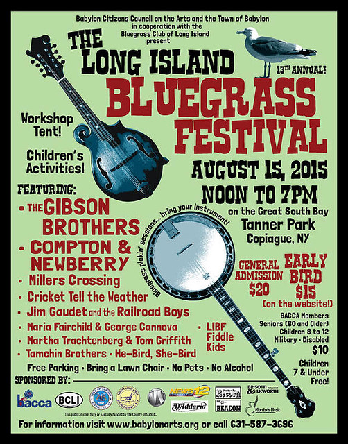 13th Annual Long Island Bluegrass Festival