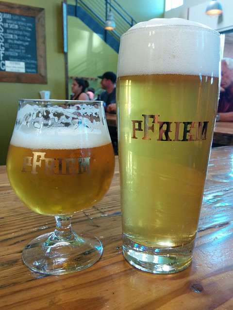 beers @ Pfriem in Hood River