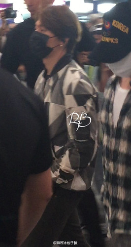 Big Bang - Beijing Airport - 07jun2015 - 薛若冰包子臉 - 06