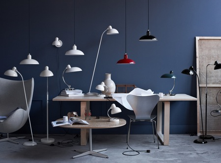 Fritz Hansen Kaiser idell Lamp Collection