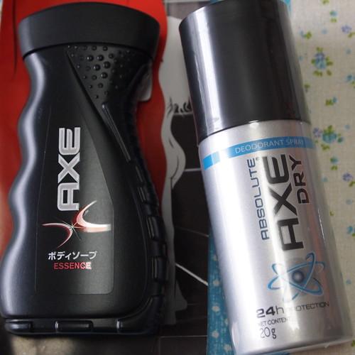 AXE 無料サンプル