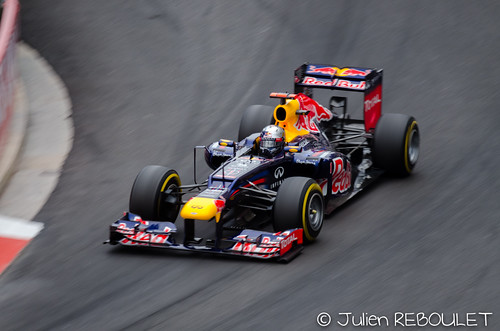 Sebastien VETTEL (D) Red Bull Racing. Formula One World Championship, Rd6, Monaco Grand Prix, Race Day, Monte-Carlo, Monaco, Sunday, 27 May 2012 by julien.reboulet, on Flickr