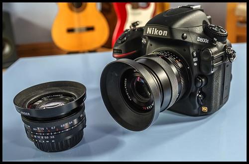 Nikon D800E Voigtlander 90 mm F3.5 SL II APO-Lanthar Voigtlander 20 mm F3.5 Color Skopar SL II