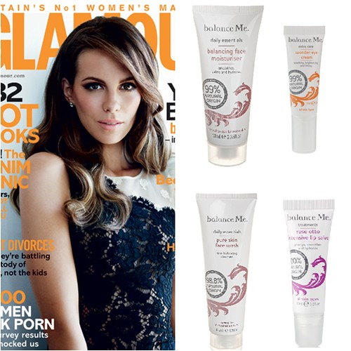 Glamour mag UK July August Balance Me Freebie