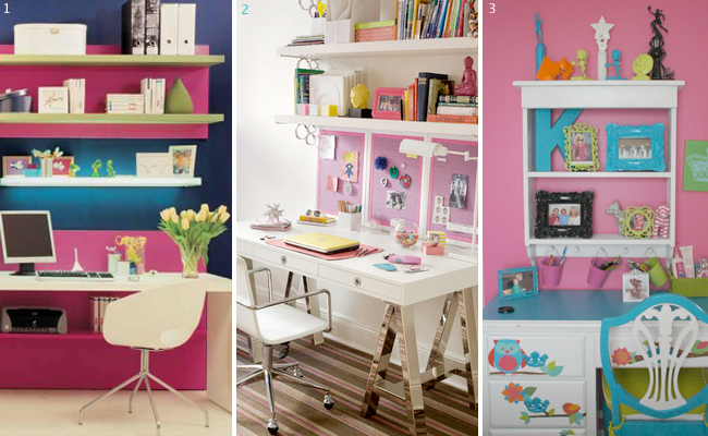 Tween Desk Areas