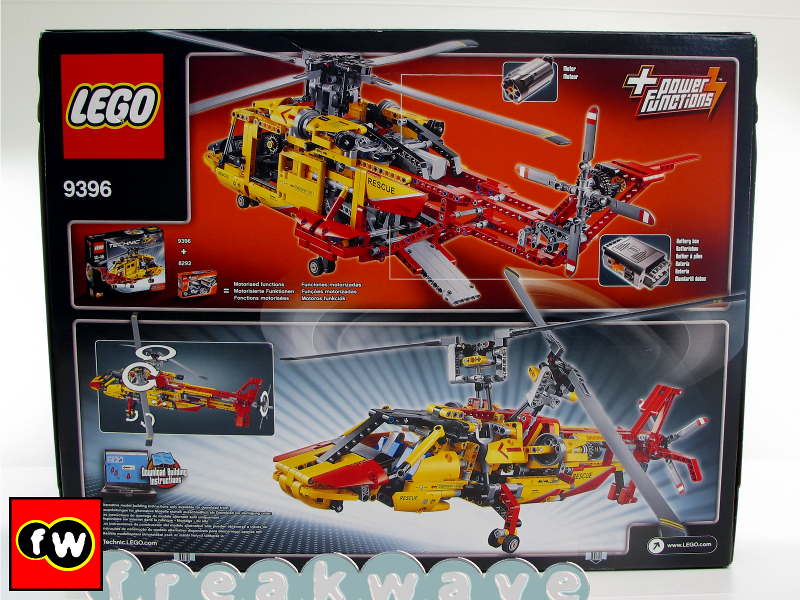 Lego Technic Helicopter 9396 NEW
