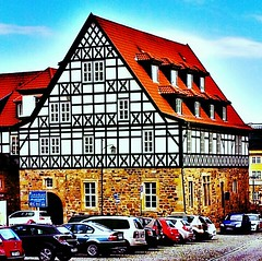 The Creuznacher #house in the #city of #Eisenach.