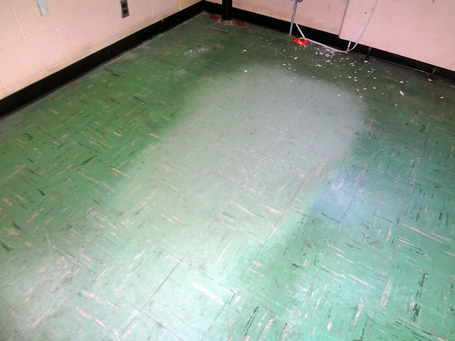 Asbestos Floor Tile Wear Damage Example 3 Flickr  : 7547789020476b8108dfz Office Chair Floor <strong>Pad</strong> from flickr.com size 500 x 375 jpeg 116kB