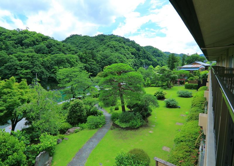 初夏の庭園2