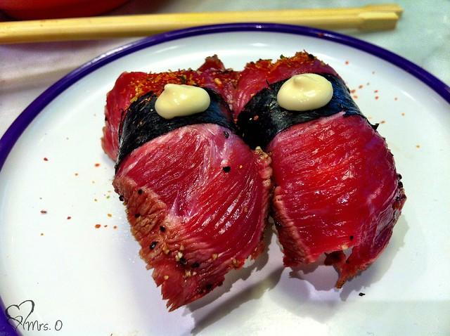 Seared Beef Nigiri