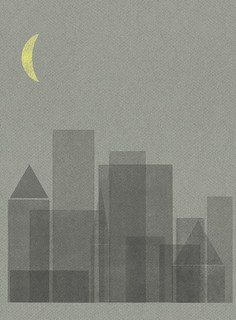 night city_grey/yellow moon