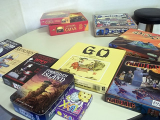 Our board game selection