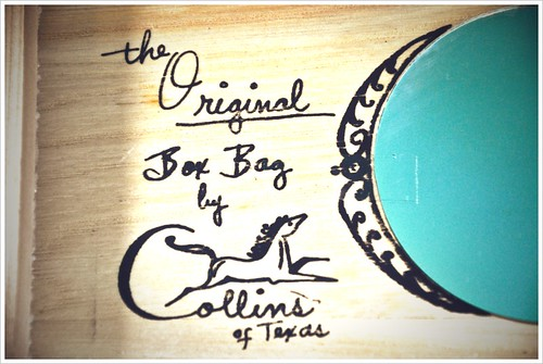 the original box bag by enid collins of texas